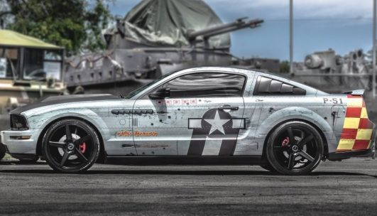 Ford P-51 Mustang Tribute Roush