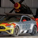 Ford and Roush built a Mustang inspired by a legendary WWII fighter plane